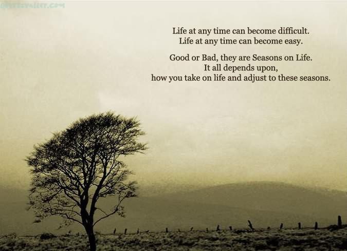 Adjusting To Life